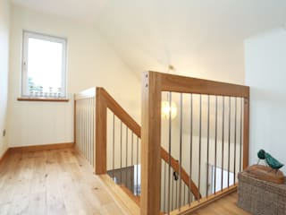 Timber Staircase Aberdeen por Complete Stair Systems Ltd Moderno