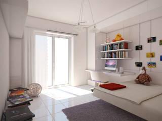 Camera da letto : Camera da letto in stile in stile Moderno di I-Render