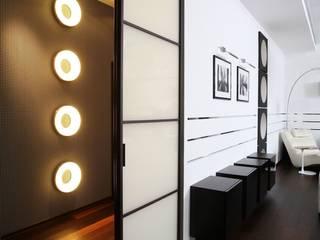 Дизайн интерьера четырехкомнатной квартиры. г. Саратов Гостиная в стиле минимализм от Павел Исаев Минимализм