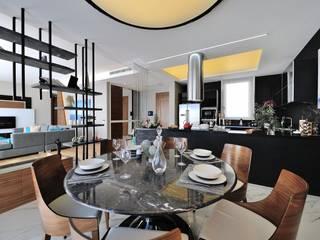 Столовая комната в стиле модерн от Voltaj Tasarım Модерн