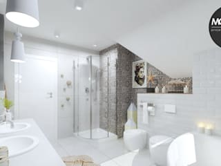 Rustic style bathrooms by MONOstudio Rustic
