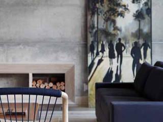 Residência R&CH Salas de estar minimalistas por Skylab Arquitetos Minimalista
