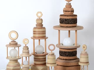 Groep lampen:   door Ingrid Kruit