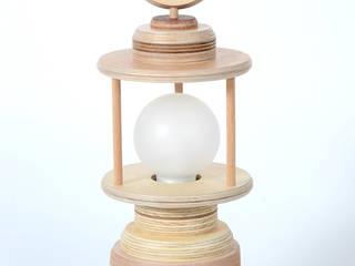 Staand lampje:   door Ingrid Kruit