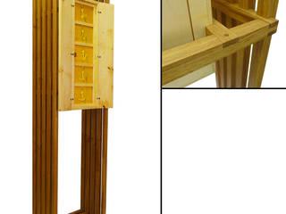 Kunstkabinet in eiken en esdoorn: modern  door wilfred kalf, Modern