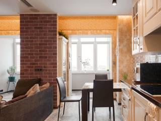 квартира с собачкой: Кухни в . Автор – Хандсвел