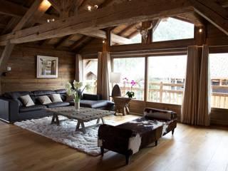 Salas de estar  por shep&kyles design , Campestre