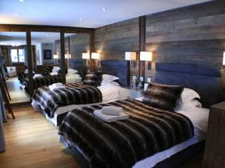 Schlafzimmer im Landhausstil von shep&kyles design Landhaus