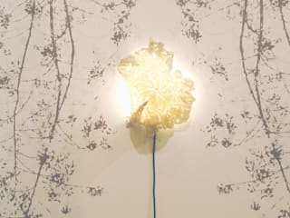 Hand made ceramic light :   by Tactile Wonderland