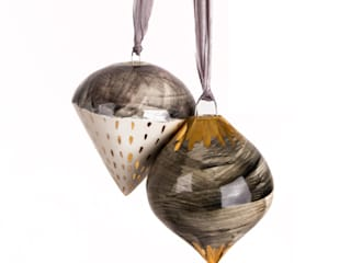Hanging Decorations:   by Alice Walton Ceramics