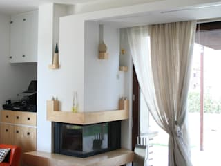 Modern Living Room by PARIS PASCUCCI ARCHITETTI Modern