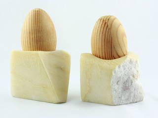 Decoration and utilities handmade of soapstone // Gebrauchskunst aus Speckstein, Treibholz u.a. Naturmaterialien:  Haushalt von StoneSoftArt