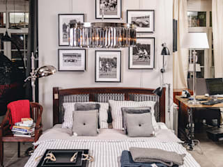 Eclectic style bedroom by House&more Eclectic