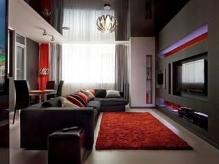 Гостиная - зона гостиной Гостиная в стиле минимализм от Gorshkov design Минимализм