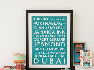 Classic Destination Bus Blind Print:   by Betsy Benn Ltd