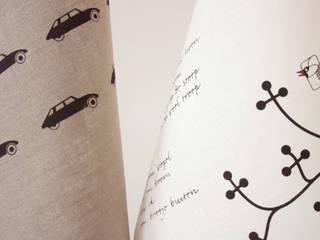 Thee- glazendoeken:   door Ping & Moos, Minimalistisch