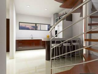 Cocinas de estilo moderno de hausing arquitectura Moderno