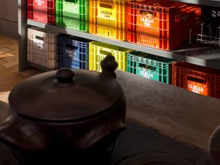 CASA DA FAZENDA: Cozinhas  por COSTAVERAS ARQUITETOS,Rústico