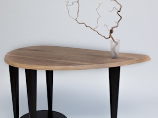 Coffee table with flacon Meble Autorskie Jurkowski SalonesMesas de centro y auxiliares