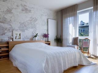 Dormitorios eclécticos de living box Ecléctico