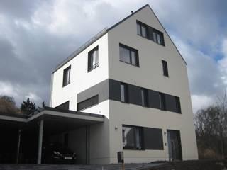 Südostansicht: moderne Häuser von ETB BAUPROJEKT Jena GmbH