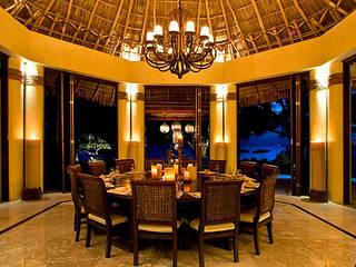 Rancho 3 Comedores tropicales de BR ARQUITECTOS Tropical