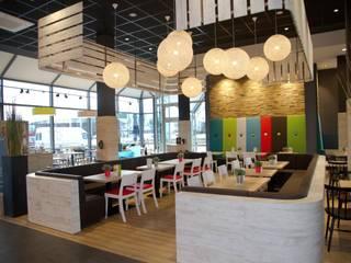 Der Beck - Aledo Obertraubling Moderne Gastronomie von Pfriem-Innenarchitektur Modern