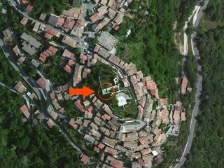 Il recupero e l'allestimento interno di una torre della Rocca Borghese di Vivaro Romano di P!STUDIO