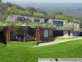 Una nuova abitazione agricola e ul recupero del nucleo originario della stazione ottocentesca del Tramway Tivoli-Roma di P!STUDIO