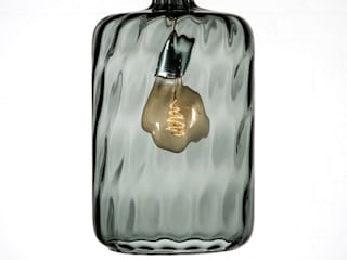 Copenhagen Bottle Pendant:   by Luku Home