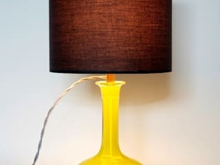 Chartreuse Victorian Decanter Lamp:   by Luku Home