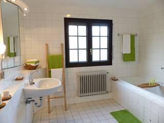 Badezimmer nachher:   von Immobilien Podium