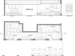 Vanilia Bar:  in stile  di Francesco Piffari Architect