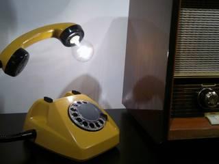 teleLAMPAfon - kaFka 77' od RefreszDizajn Nowoczesny