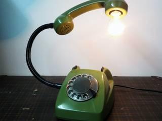teleLAMPAfon - ZOLLfon 77' od RefreszDizajn Eklektyczny