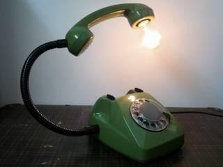 teleLAMPAfon - ZOLLfon 77' od RefreszDizajn Minimalistyczny