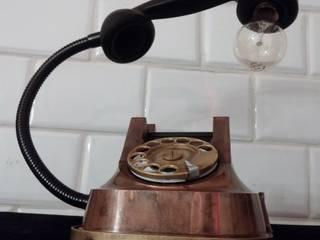 teleLAMPAfon - aJron 45' od RefreszDizajn Industrialny