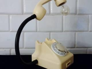 teleLAMPAfon - iVory 61' od RefreszDizajn Nowoczesny