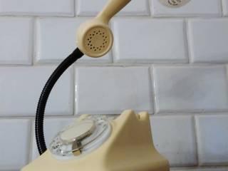 teleLAMPAfon - iVory 61' od RefreszDizajn Eklektyczny