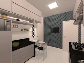 Kitchen by Konverto Interiores + Arquitetura,