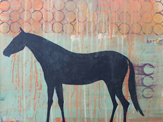 Horse:   by Clare Haxby Art Studio