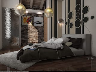 Bedroom by Tomas Andres, Modern