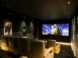 007 Home Cinema Modern style media rooms by Finite Solutions Modern