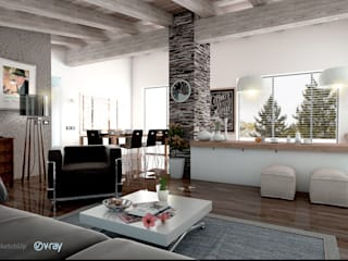 Living room by Tomas Andres, Modern