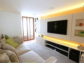 視聽室 by MeyerCortez arquitetura & design