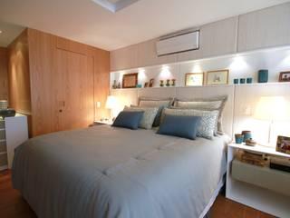 Modern style bedroom by MeyerCortez arquitetura & design Modern