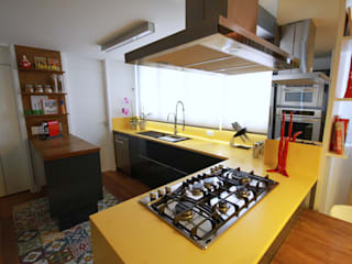 Cocinas de estilo  por MeyerCortez arquitetura & design , Moderno