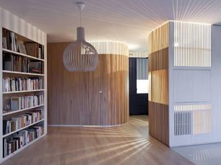 Appartement N°4 Salle à manger scandinave par Julien Joly Architecture Scandinave