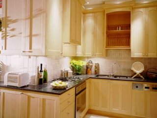 Observatory Gardens maple kitchen by Tim Wood Modern Kitchen by Tim Wood Limited Modern
