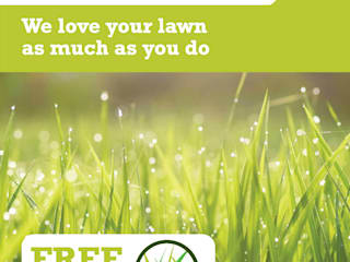 FREE Lawn Analysis Modern garden by Joe's Lawn Care Modern
